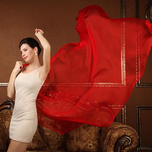 2016 spring 100% real silk Scarf Shawl wrap for women Female solid color fashion Scarves summer beach towel super big 180*110cm(China (Mainland))