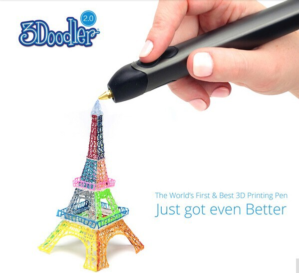 Kicstar 3Doodler2.0 3d pen consumables 3doodler 3d doodle drawing pen child 3d three-dimensional puzzle pen