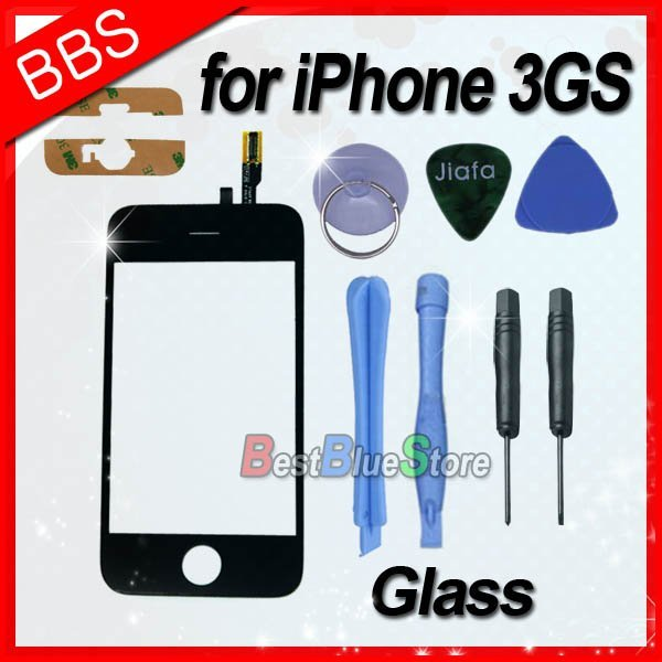 Wholesale Mix Style 3G/3GS Glass Digitizer For iPhone 3G / 3GS Touch Screen(China (Mainland))