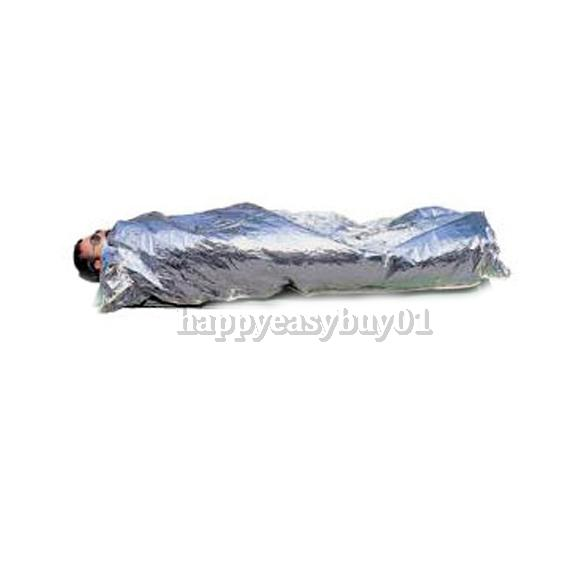 Hot Portable Water Proof Emergency Survival Rescue Blanket Foil Thermal Space First Aid Sliver Rescue Curtain Outdoor New H1E1(China (Mainland))