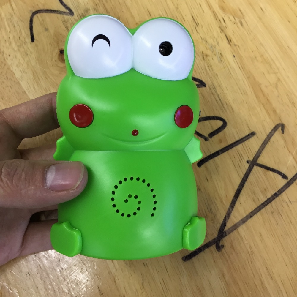 2014 New Hot Frog Red-infrared Sensory Light (Green)<br><br>Aliexpress