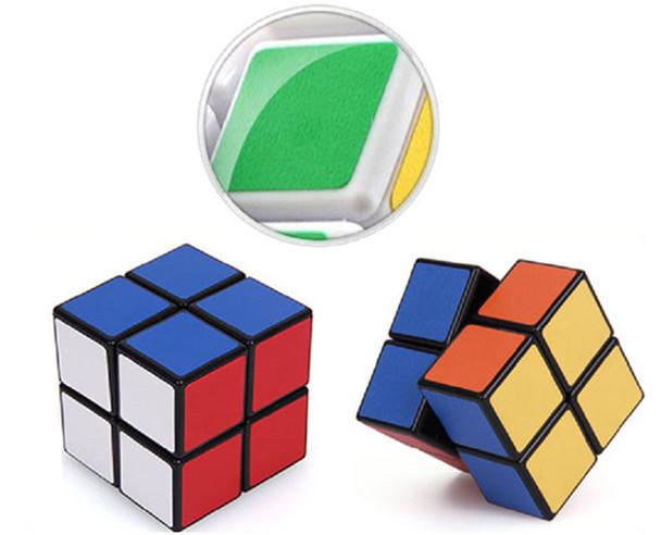 Puzzle Magic Cube Toys Scrub PuzzleToy Professional Magic Cube 2x2x2 Puzzle Cube Children's Intelligence Toys AMF0005(China (Mainland))