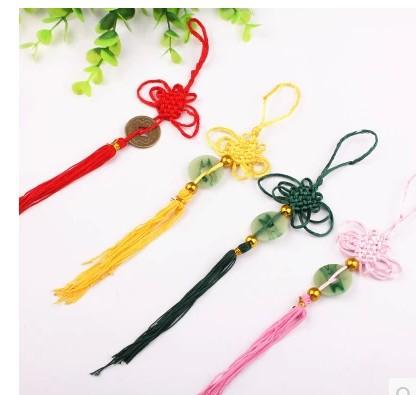 Chinese new year supplies China knot pendant Tuba trumpet knot wedding decoration Chinese crafts 20cm(China (Mainland))