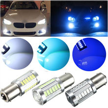 Buy 1156 P21W BA15S 7506 Super brightness 33 SMD 5630 5730 LED auto brake lights fog lamp reverse Bulb car daytime running light 12V for $1.50 in AliExpress store