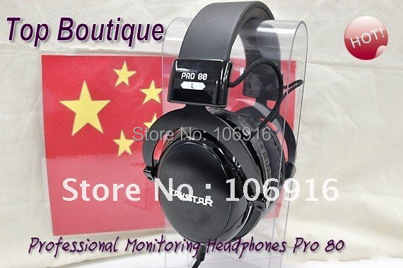 Old Version:Spring Wire 2pcs Only! %Takstar PRO80 Professional DJ Monitoring Headphones & Earphones Without Original Packaging