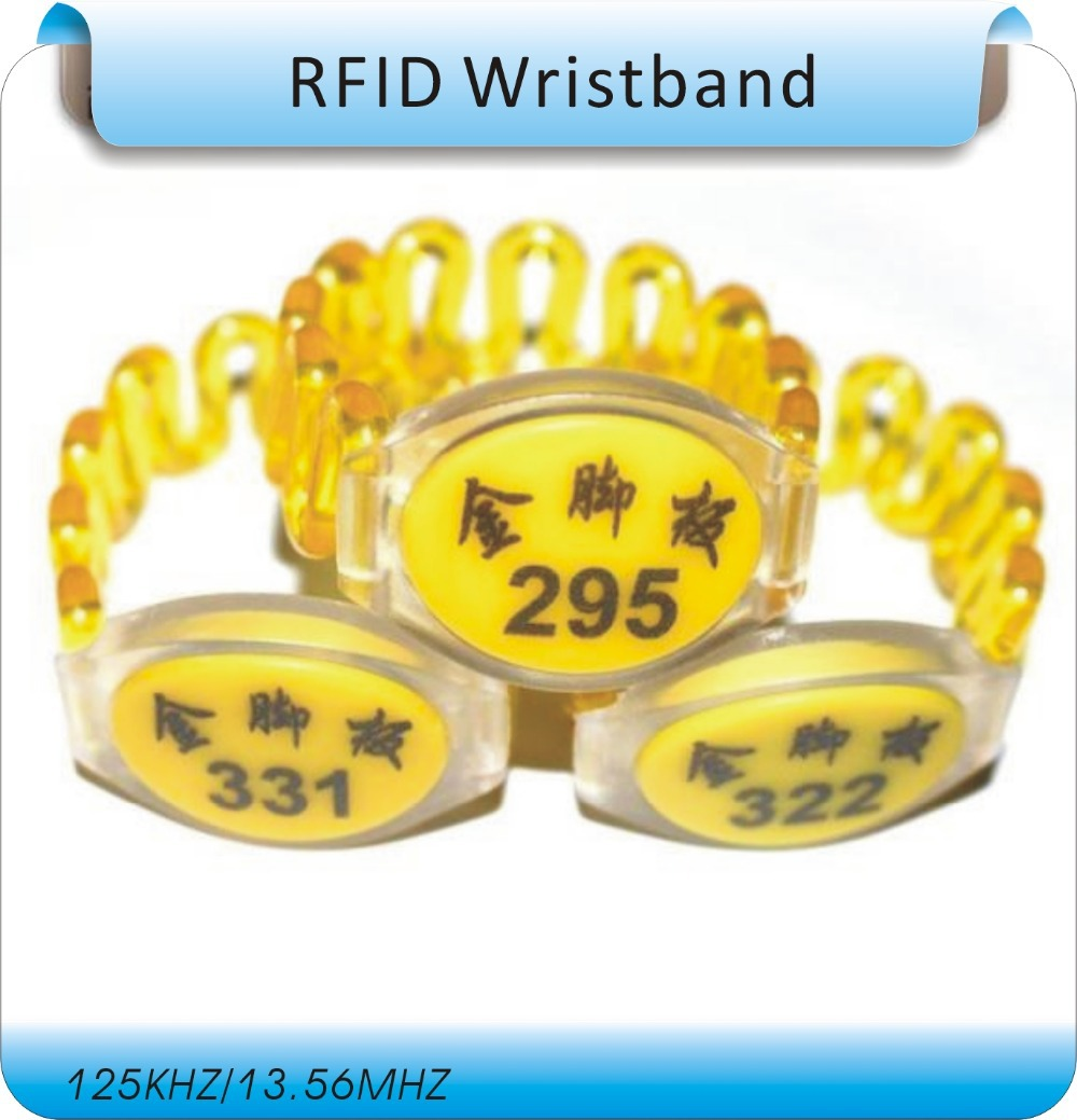 125Khz RFID Wristband,Water-proof Wristband,RFID Wristband tag,100pcs/lot<br><br>Aliexpress