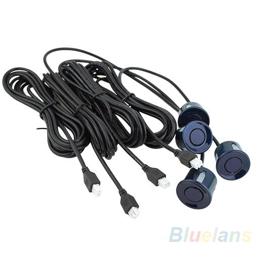 Wholesale 4pcs Assistance Reversing Radar Rrobe Parking Sensors black blue gray red white silver 1HQ7