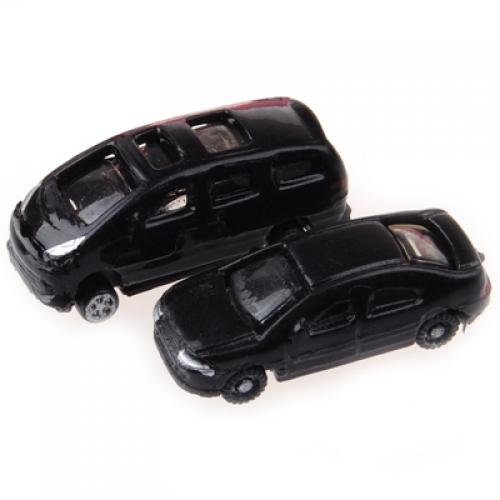 Good Deal ! 100pcs Painted Model Cars Building Train Layout Scale N Z (1 to 200) C200-4(China (Mainland))