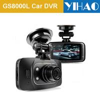 Original GS8000L Car DVR 1080P HD Vehicle Camera Video Recorder Dash Cam G-sensor HDMI  Car recorder DVR Free shipping