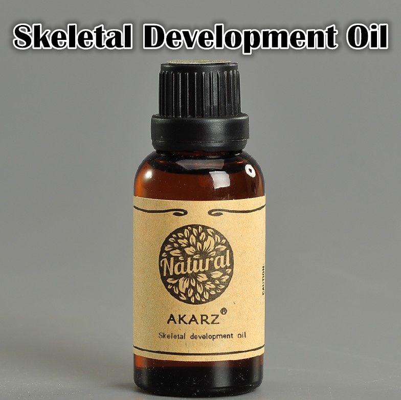 Famous brand AKARZ Height increasing oil Medicine body grow taller essential oil Foot health care products promot bone growth(China (Mainland))