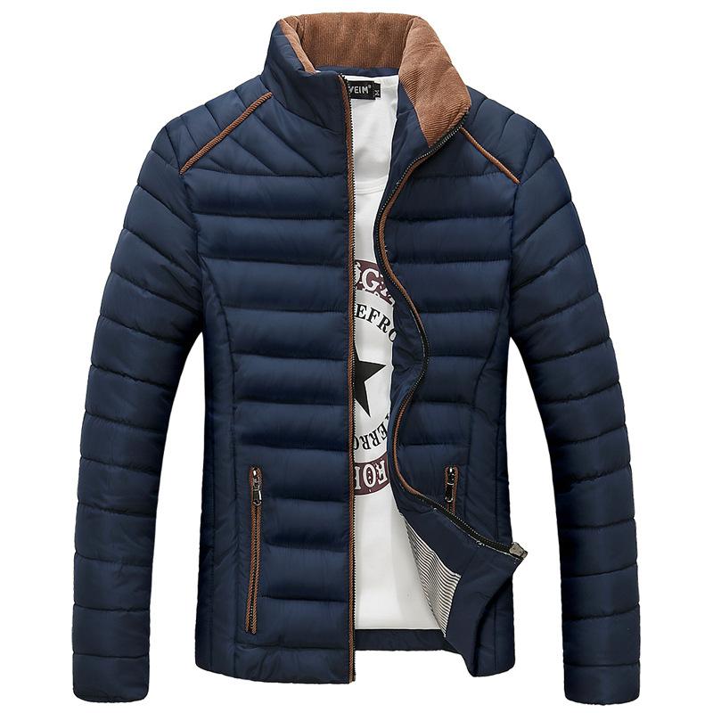 New 2016 winter Men's Parkas Jacket Winter Cotton Coats Mens Wadded Jacket Man Jackets Warm Coat men leisure coats jackets Y108D