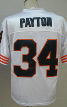 William Perry Jim McMahon WALTER PAYTON Gale Sayers Mike Singletary Dick Butkus Men's Throwback Jersey(China (Mainland))