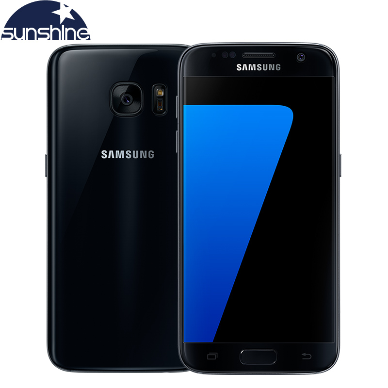 Original Samsung Galaxy S7 4G LTE Waterproof Mobile phone 5.1'' 12MP 4G RAM 32G ROM NFC Smartphone(China (Mainland))