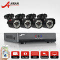 4CH CCTV System AHD 720P HDMI DVR 4pcs 1 0P HD IR Outdoor CCTV Camera Home