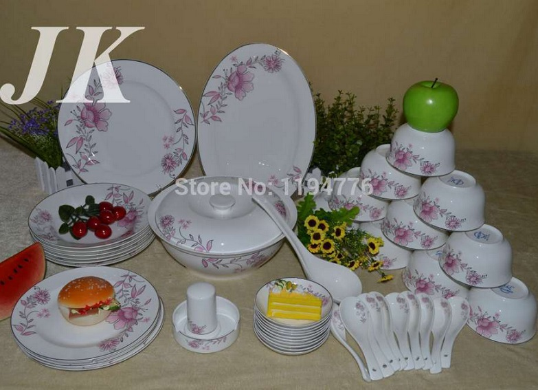 ceramic fine bone china porcelain dinner set of 28pcs dinner plate set