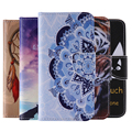 Luxucy Cases For iPhone 4 4S 5 5S SE Cover Fashion 15 Painting Patterns Wallet Leather