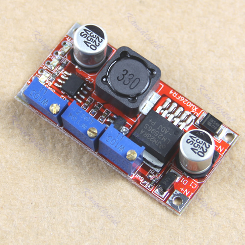 Free Shipping 1PC LM2596 LED Driver DC-DC Step-down Adjustable CC/CV Power Supply Module(China (Mainland))