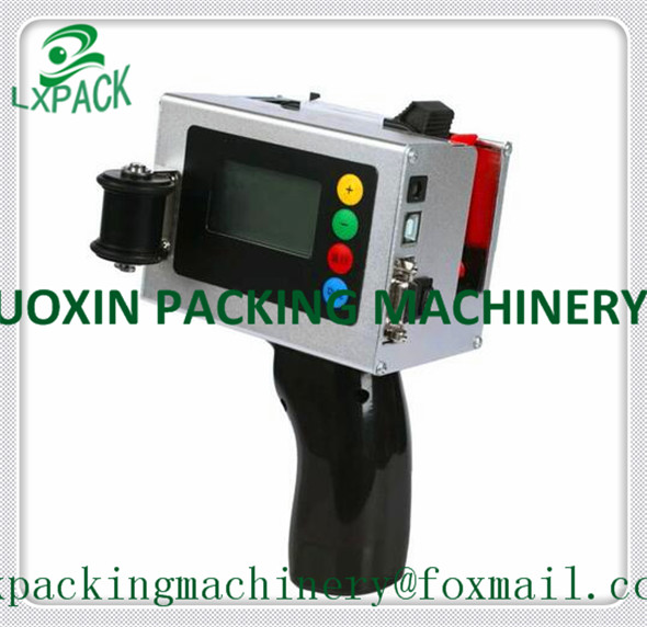 LX-PACK Lowest Factory Price INDUSTRIAL INKJET PRINTER SYSTEMS portable coder date marking Stainless steel hand jet printer(China (Mainland))