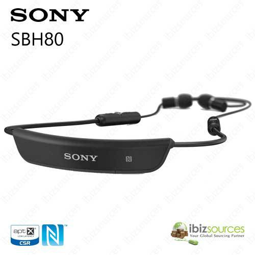buy sony sbh80 bluetooth stereo headset black bluetooth 3 0 nfc multipoint. Black Bedroom Furniture Sets. Home Design Ideas