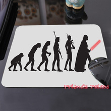 Funny Human Evolution Skywalker Luke Printed Custom Made Silicon Mouse Pad Style Amazing Lightsaber Mice Mats - Cool Art Store store