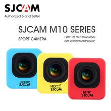In Stock Original SJCAM M10 Series M10 Cube M10 WIFI M10 Plus 1080p 2K Mini Action Camera Waterproof 1080P Sport HD DV Camcoder