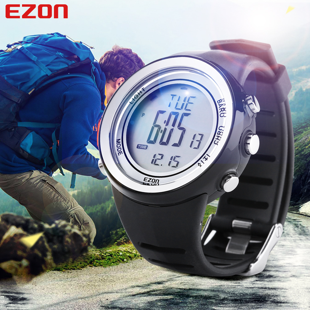 2016 Fashion Sport Watch EZON H009A15 Hiking Mountain Climbing Watch Men's Digital Watches Altimeter Barometer(China (Mainland))