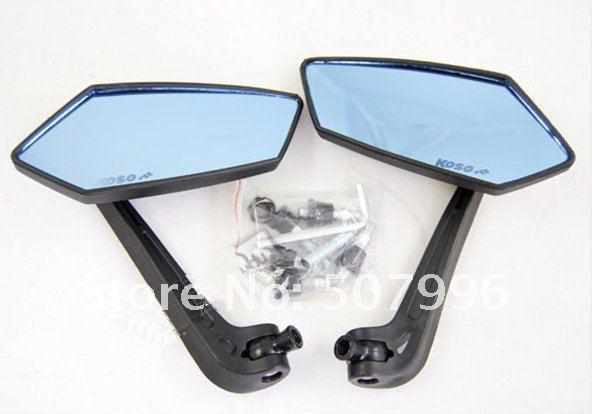 Free Shipping Top quality Motorcycle Mirror/ KOSO Mirror Set For motorcycle and E-Bike Guaranteed(China (Mainland))