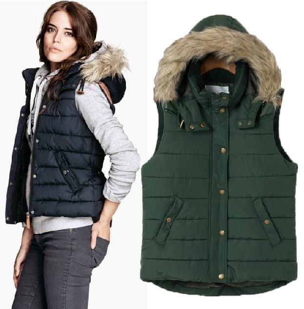 Womens winter fashion vest – Modern fashion jacket photo blog