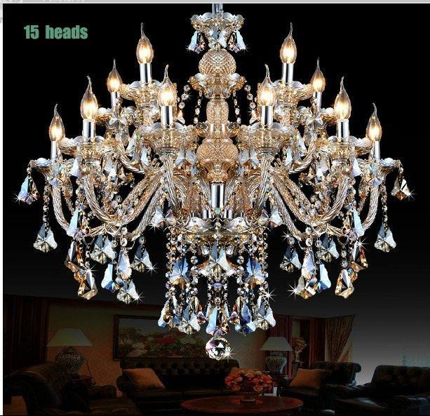 Buy large chandelier lighting top k9 crystal chandeliers bedroom lamp dining - Crystal chandelier for dining room ...