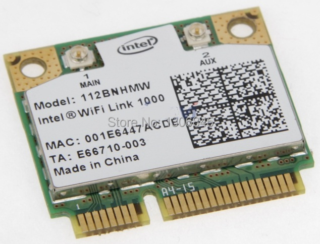 NEW Wireless Card for Intel WiFi Link 1000 half Mini PCI-E 802.11b/g/n(China (Mainland))