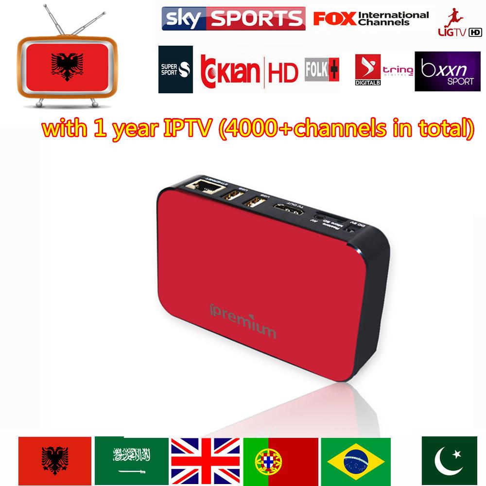 Albanian IPTV Box AVOV iPremium TVonline IPTV Box Free Shipping Android TV Box 500+ Albanian Channels Turkey Greek IPTV(China (Mainland))
