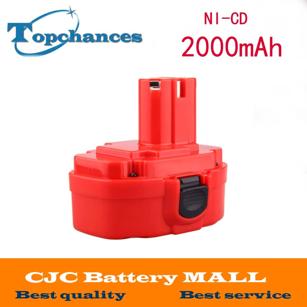 9.6V 2000mAh Rechargeable Battery Pack Power Tool Battery Cordless Drill for Makita 9120 9122 PA09 6207D Ni-CD Bateria(China (Mainland))