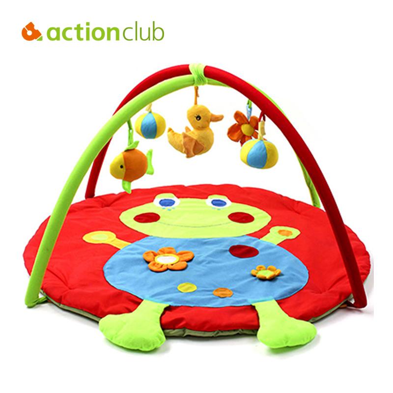 2016 Design 0-12 Months Baby Toy Baby Play Mat Game Tapete Infantil Frog Educational Crawling Mat Play Gym Kids Blanket Carpet(China (Mainland))