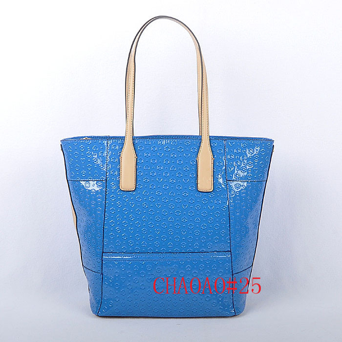 "New women fashion famous brand """"GU"""" Large Satchel tote Keron Carryall shoulder bag Leather cross-body handbag NWT *20 inch"