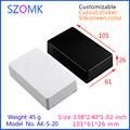 10 pcs 101 61 26mm szomk quality abs material electronics plastic instrument project box small