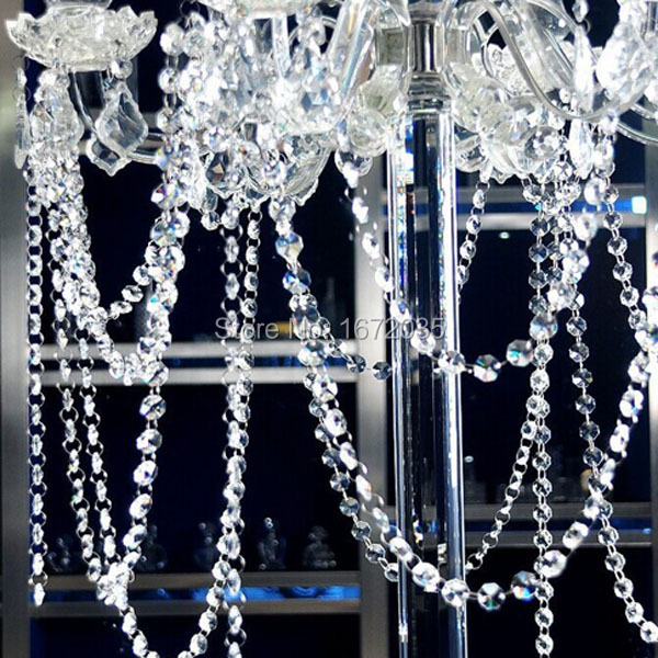 10Meterslot Glass Beads Curtain Glass Crystal Curtain