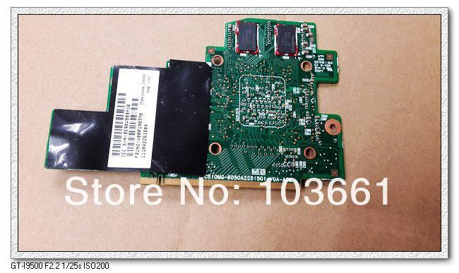 For Toshiba A505 laptop V000190370 CS10MG-6050A2251501-VGA-A02 216-0729042 1G MB Green VGA video card ,fully tested(China (Mainland))