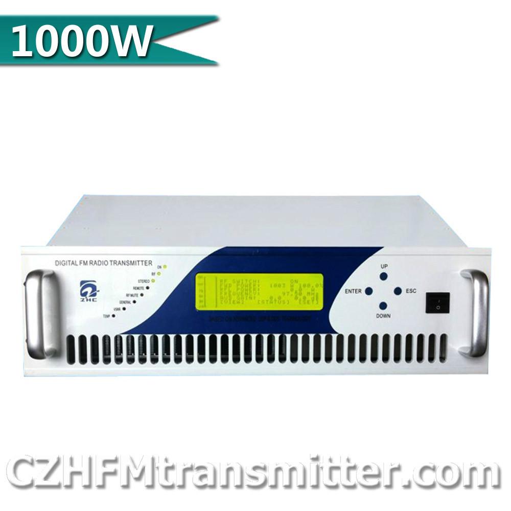 Fmuser CZH-1000C 1000W Compact FM Broadcast transmitter 87MHz-108MHz fm broadcast transmitter(China (Mainland))