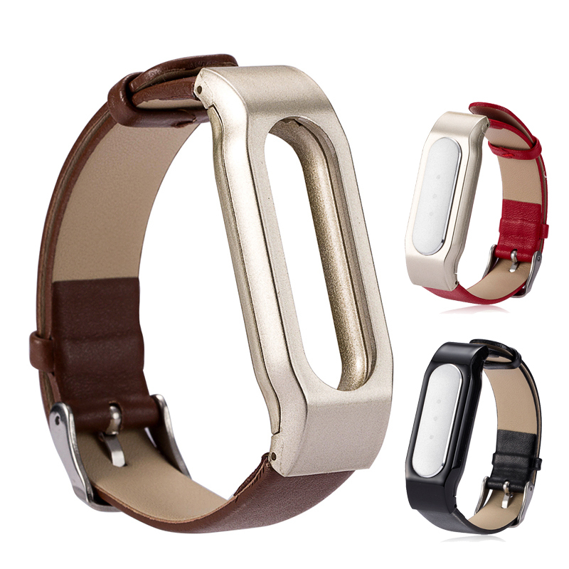 MEAFO Leather Strap Band Bracelet Wristband for Xiaomi Mi Band Miband Wearable Wrist High quality Accessories Free shipping(China (Mainland))