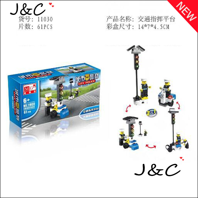 Free Shipping 3 IN1 Educational Building Blocks Compatible Police Story Minifigure Boys Bricks Toys Bricks Juguetes Kids Toys<br><br>Aliexpress