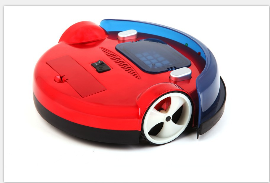 2014year the new gift ! Smart Home/Office Robot new mini Fashionable robot vaccum cleaner vacuum+wiping RECHARGEABLE BATTERY(China (Mainland))