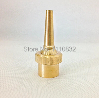 Factory Direct 6PCS/LOT DN20 3/4 Inch Brass Fountain Lengthen Spray Direct Pure Jet Spray Nozzle Garden Irrigation Dust Control(China (Mainland))