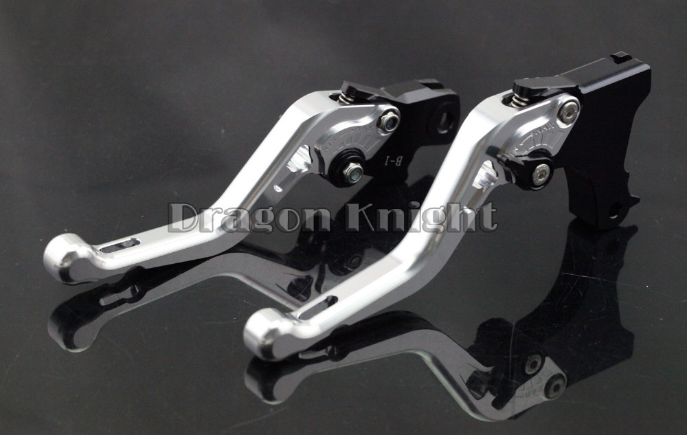 Motocycle AccessoriesFor BMW F650GS F700GS F800GS Short Brake Clutch Levers Silver(China (Mainland))