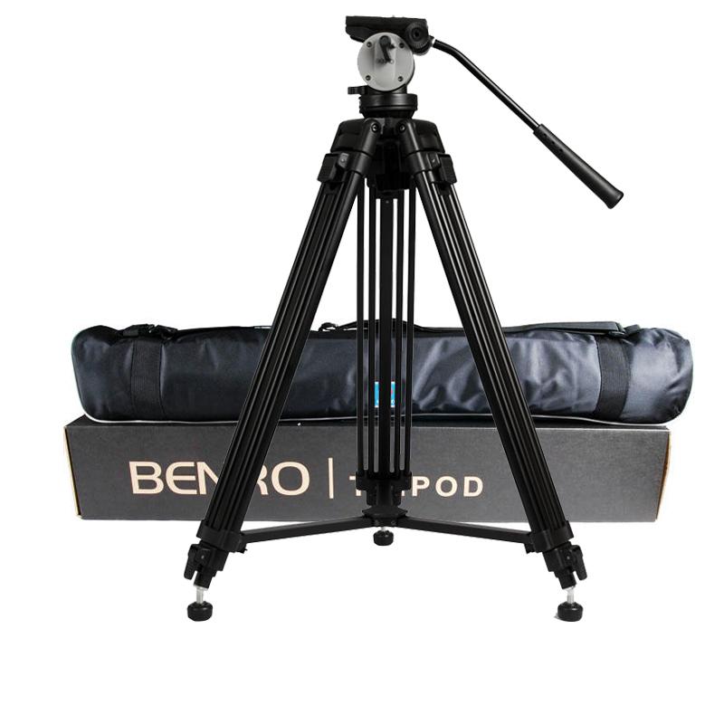 wholesale DHL Pro BENRO KH25N KH-25N Video Camera Tripod Professional Hydraulic Head Magnesium Alloy Tripod+Video Tripods Bag(China (Mainland))