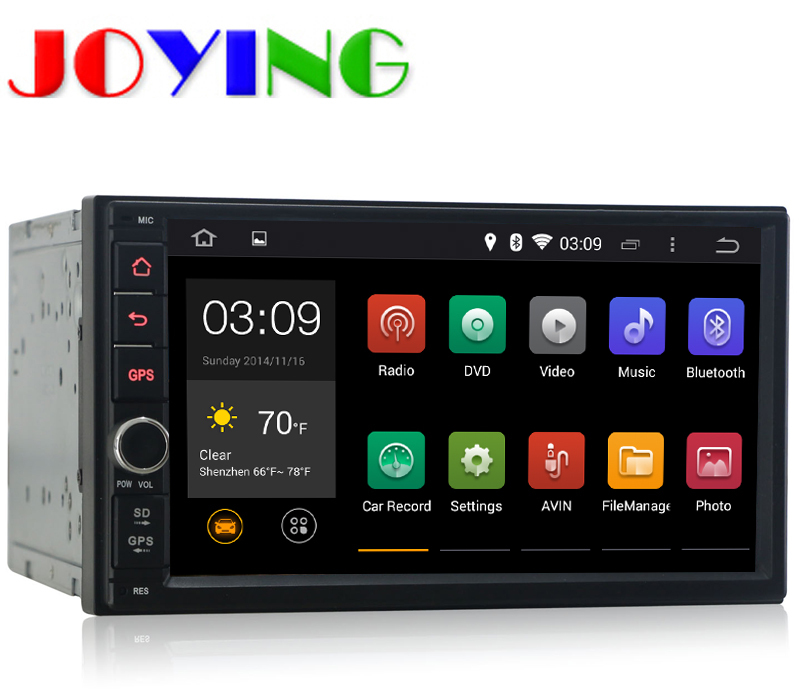 Автомобильный DVD плеер Joying 7/1024 * 600 2 din 4.4 DVD gps/+ Wifi + + Bluetooth + 3G + pc +