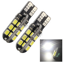 10X Cold White Error Free Canbus 24 SMD 2835 T10 W5W 194 Auto Car Parking Turn Signal Wedge Bulb Dome Interior Light 168(China (Mainland))