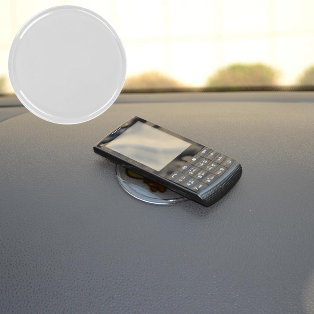 Car Dashboard Sticky Pad Silica Gel Magic Sticky Pad Holder Anti Slip Mat For Car Mobile Phone Car Accessories free shipping(China (Mainland))