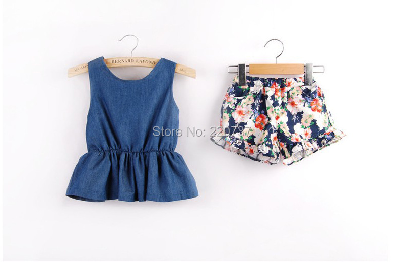[Aamina] Summer girls clothing sets,wholesale baby boutique clothing 5 pcs/lot--3P108GIRLSET002<br><br>Aliexpress