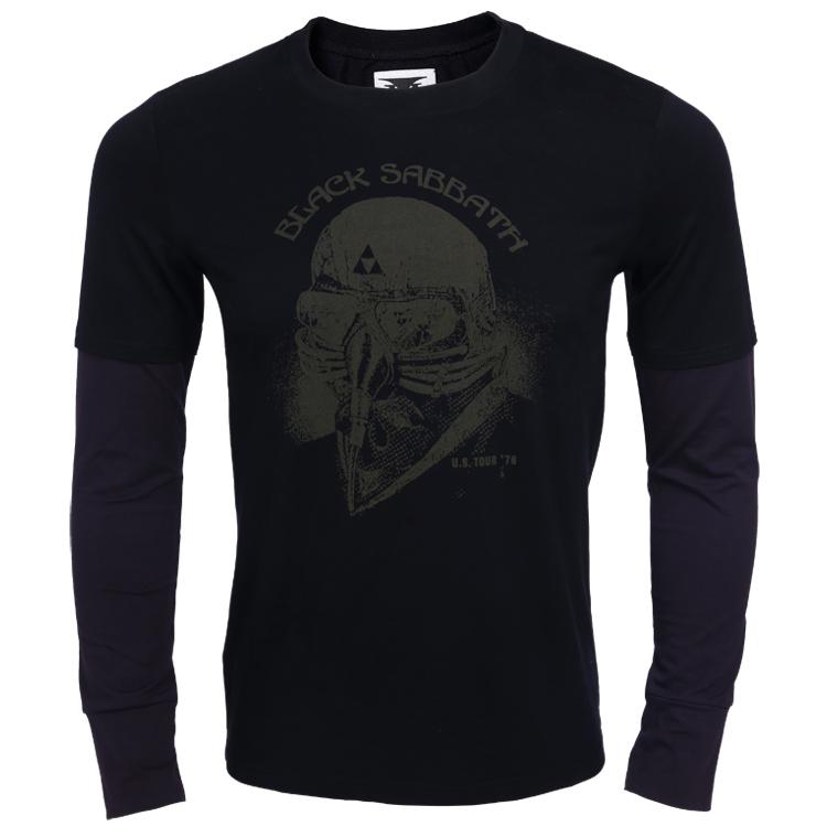 Black Sabbath Us Tour 78 T Shirt Best Adult Black Print