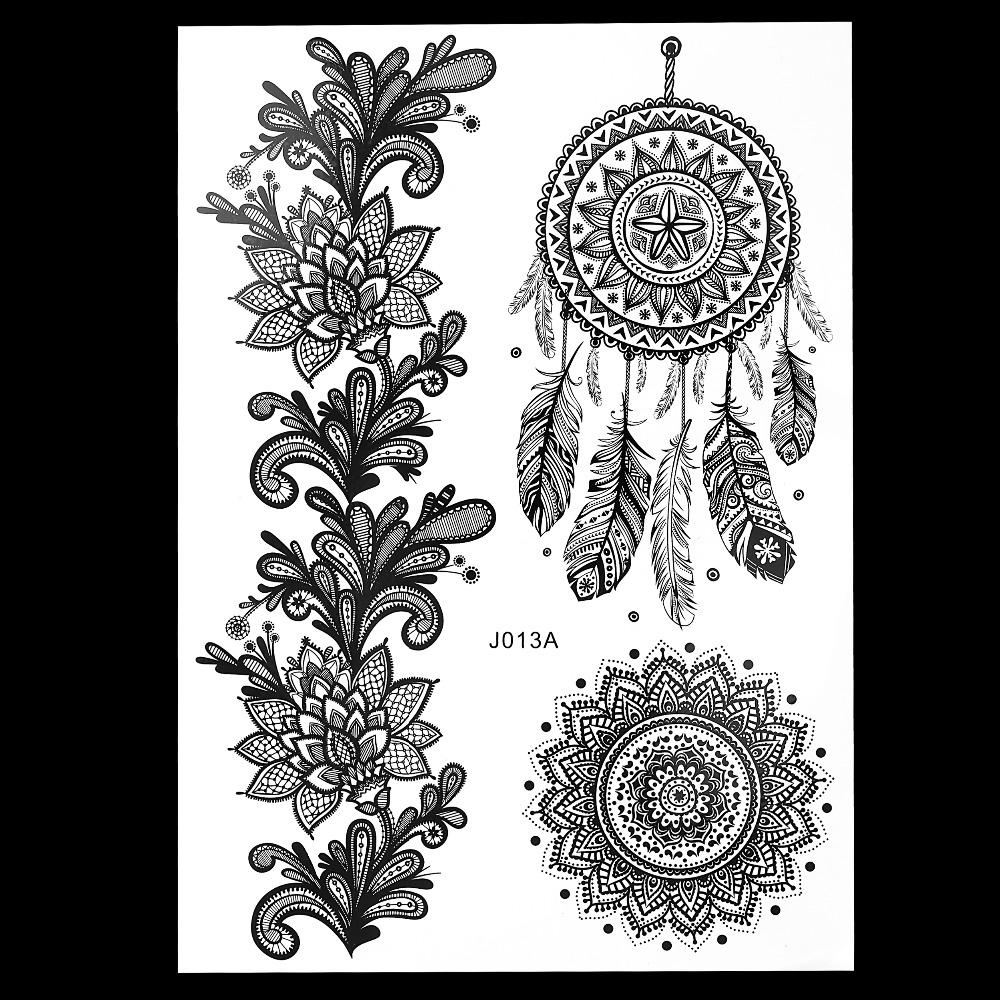 schwarz henna tattoo kit beurteilungen online einkaufen. Black Bedroom Furniture Sets. Home Design Ideas